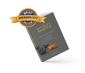 Grant Ian Gamble Business Consulting   Author   Speaker   Business Consultant   Coach  The Affinity Principle   Best Seller Logo